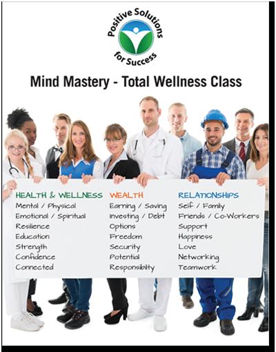 Mind Mastery Wellness Workbook
